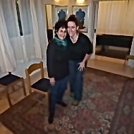 Me and Rika just after a private lesson in her Tel Aviv studio January 2011